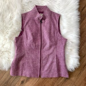Coldwater Creek Herringbone Vest